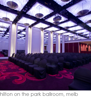 hilton on the park ballroom melbourne